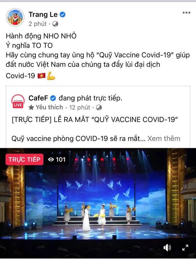 Các doanh nhân đồng loạt chia sẻ về sự kiện ra mắt Quỹ Vaccine COVID-19: Cả nước chung tay, nhất định thắng dịch! - Ảnh 2.