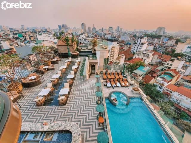 Mê mẩn ngắm 4 khách sạn trong khu phố cổ Hà Nội được hàng triệu du khách bình chọn là nơi có tầng thượng đẹp nhất thế giới - Ảnh 4.