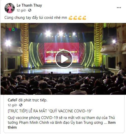 Cây săn bàn Danh Trung, hoa khôi bóng chuyền Linh Chi và loạt VĐV, cầu thủ theo dõi, đồng lòng kêu gọi ủng hộ Quỹ vaccine phòng COVID-19 - Ảnh 9.