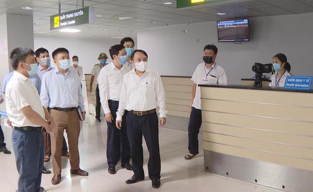 2 ca dương tính SARS-CoV-2 ở Hà Tĩnh không khai báo y tế khi xuống sân bay - Ảnh 1.