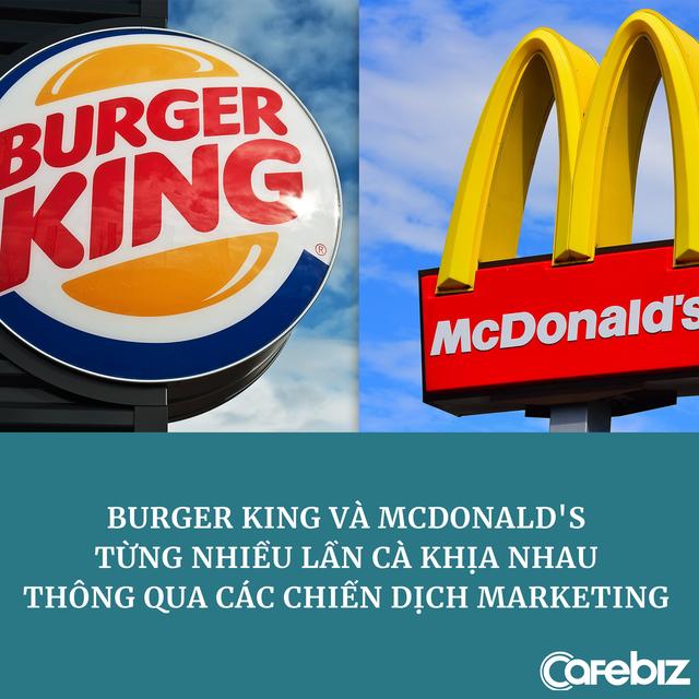 Marketing cà khịa như Burger King: Đăng ảnh đồ thất lạc của khách hàng, trong đó có mũ của nhân viên McDonald's - Ảnh 1.