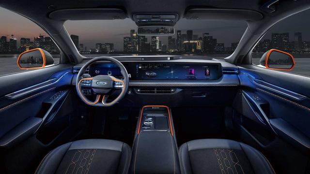 Hàng hot 5 chỗ Ford Evos lại gây sốt: Tái sử dụng làm mẫu SUV mới, màn hình dài tới 1,1 mét - Ảnh 3.