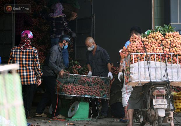 Ảnh: Công an huyện Lục Ngạn, Bắc Giang chung tay thu hoạch vải cùng bà con ngay từ đầu vụ - Ảnh 16.