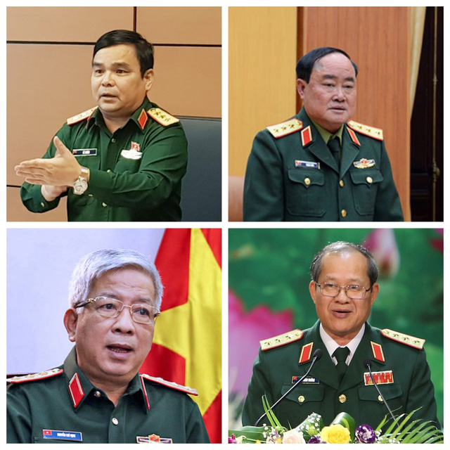 4 Thứ trưởng Bộ Quốc phòng, 3 Thứ trưởng Bộ Công an thôi giữ chức vụ từ 1/6 - Ảnh 1.