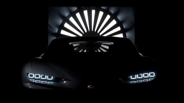 Bugatti Chiron bí ẩn bất ngờ lộ diện, có thể là hậu bản của xe suýt nhanh nhất thế giới  - Ảnh 1.
