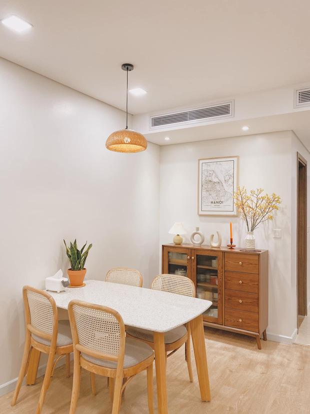 Mua chung cư 72m2, vợ chồng mới cưới tự tay thiết kế từng góc theo phong cách Hàn Quốc, chơi thêm cả bể cá ban công - Ảnh 2.