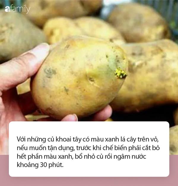 Ngoài khoai tây mọc mầm còn có loại khoai tây khác bạn không được ăn, nếu chủ quan thì tử vong không biết chừng! - Ảnh 3.