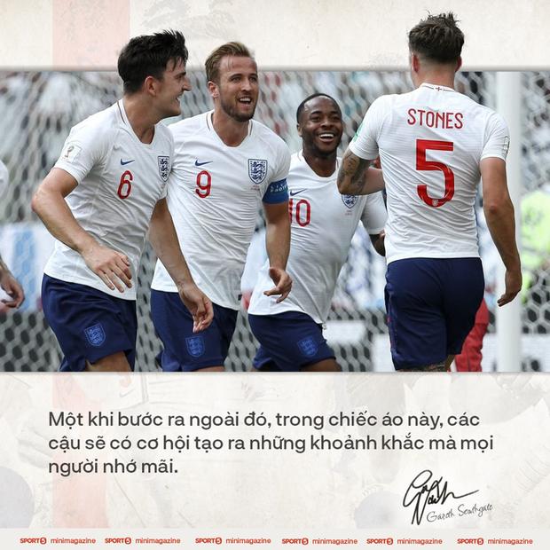 Tâm thư của HLV Gareth Southgate viết cho nước Anh: Nếu không có niềm tự hào dân tộc, cơ hội khoác áo Tam sư sẽ không bao giờ xuất hiện - Ảnh 2.