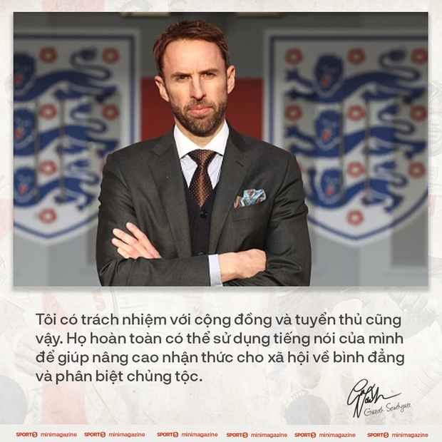 Tâm thư của HLV Gareth Southgate viết cho nước Anh: Nếu không có niềm tự hào dân tộc, cơ hội khoác áo Tam sư sẽ không bao giờ xuất hiện - Ảnh 9.