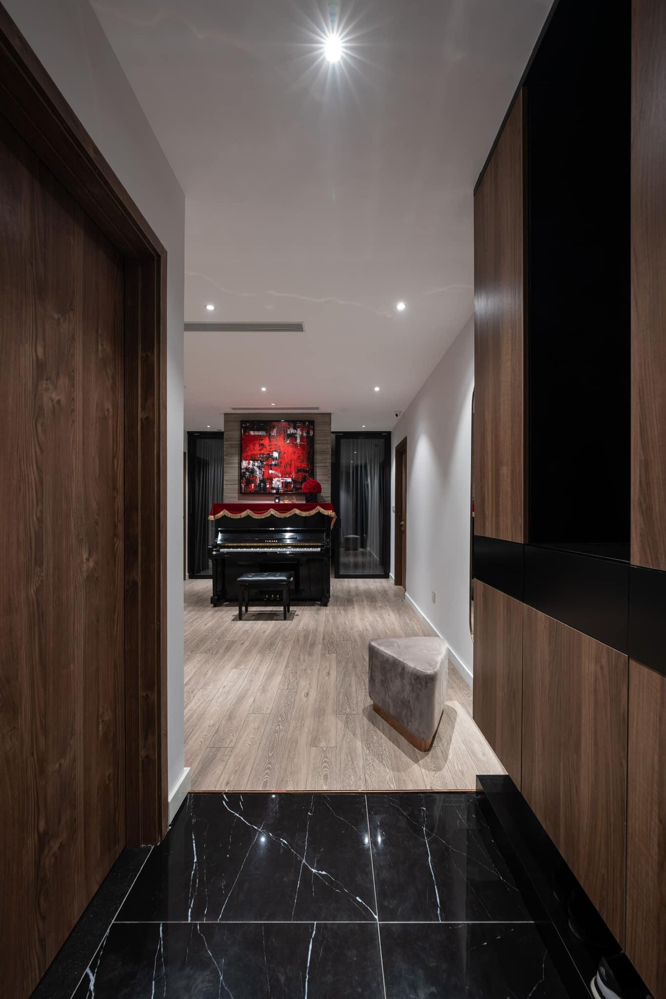 Penthouse 20 tỷ với gam màu đen huyền bí và sang trọng của 9X độc thân: Mạnh tay chốt đơn thiết kế lên tới 6 tỷ - Ảnh 14.