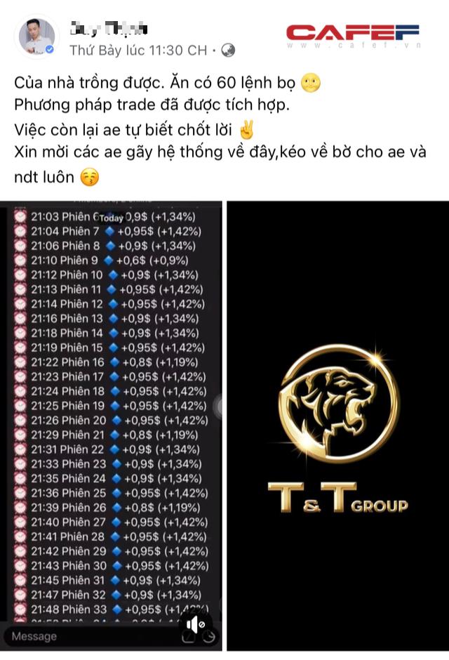 Phát hiện sàn tiền ảo mạo danh thương hiệu Tập đoàn T&T Group - Ảnh 4.