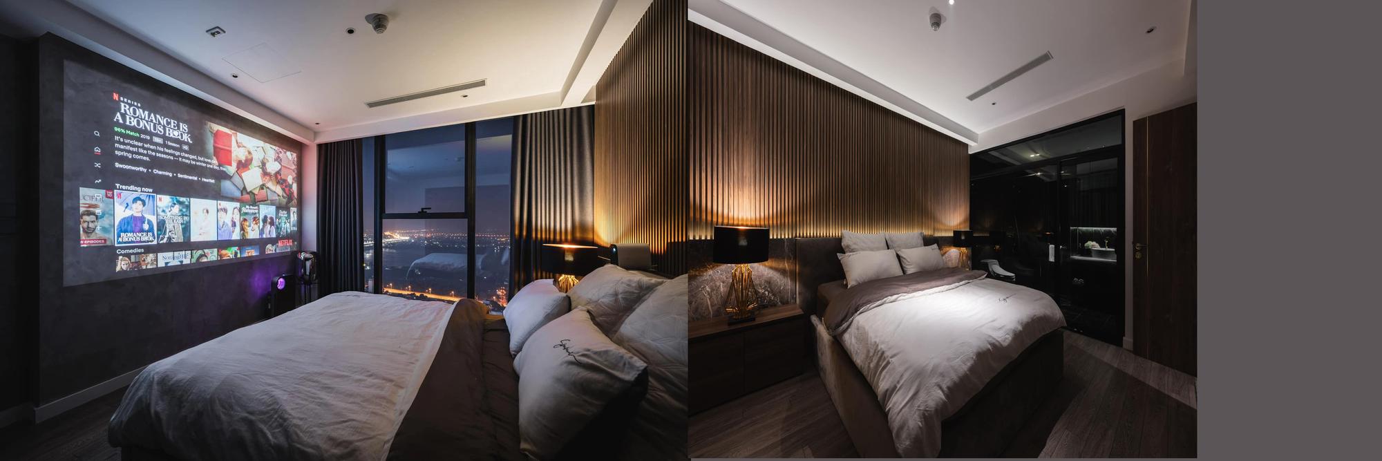 Penthouse 20 tỷ với gam màu đen huyền bí và sang trọng của 9X độc thân: Mạnh tay chốt đơn thiết kế lên tới 6 tỷ - Ảnh 18.