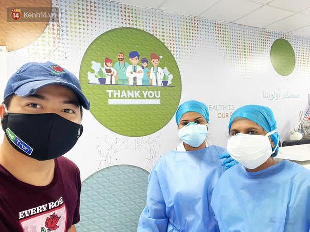 Hành trình chiến đấu với Covid-19 của phóng viên Việt Nam tác nghiệp tại UAE: Gục trong buổi họp báo, từng phải thở oxy vì tổn thương phổi nặng - Ảnh 7.
