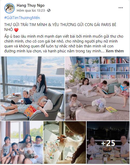 Vợ hot girl của CEO 8X từng gây sốt trên Shark Tank hé lộ cuộc sống gia đình trong mơ, ai ai cũng phải ngưỡng mộ - Ảnh 1.