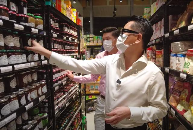 NTK Thái Công đi siêu thị trong mùa dịch liên tục kêu trời vì giá quá đắt, tổng số tiền lúc thanh toán gây sốc nặng - Ảnh 2.