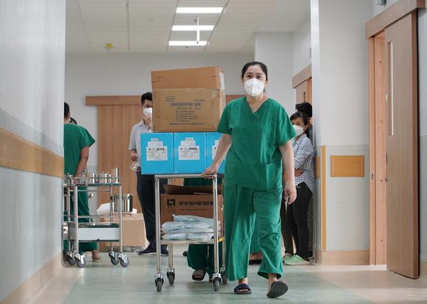 Ảnh: Bên trong Trung tâm Hồi sức Covid-19 với 1.000 giường, chuyên trị những ca bệnh nguy kịch tại TP.HCM - Ảnh 9.