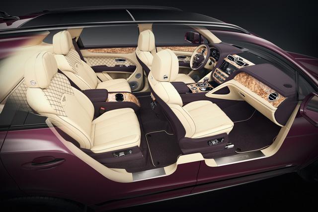 Bentley Mulliner ra mắt Bentayga siêu hiếm: Khoang cabin ốp gỗ quý, màu sơn ngoại thất lấy cảm hứng từ quả cà tím - Ảnh 1.