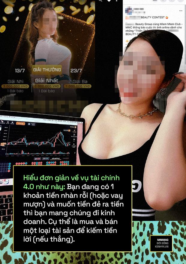 Lột trần hệ sinh thái hot girl tài chính 4.0: Ngày ngày khoe ngực tràn màn hình giao dịch, vẽ chuyện làm giàu truyền cảm hứng và còn chiêu trò gì nữa? - Ảnh 7.