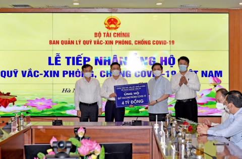 18 tổ chức, doanh nghiệp ủng hộ Quỹ Vắc xin hơn 80 tỷ đồng, riêng Bắc Giang ủng hộ 25 tỷ, các doanh nghiệp Hàn Quốc đã ủng hộ hơn 10 triệu USD - Ảnh 1.