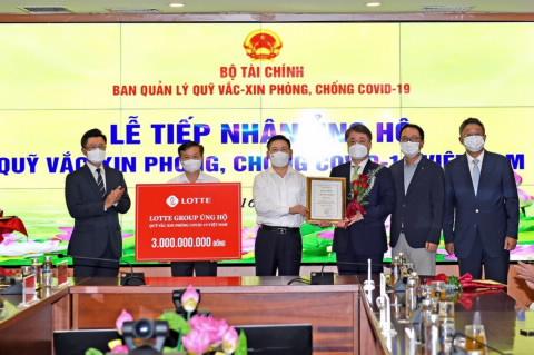 18 tổ chức, doanh nghiệp ủng hộ Quỹ Vắc xin hơn 80 tỷ đồng, riêng Bắc Giang ủng hộ 25 tỷ, các doanh nghiệp Hàn Quốc đã ủng hộ hơn 10 triệu USD - Ảnh 2.