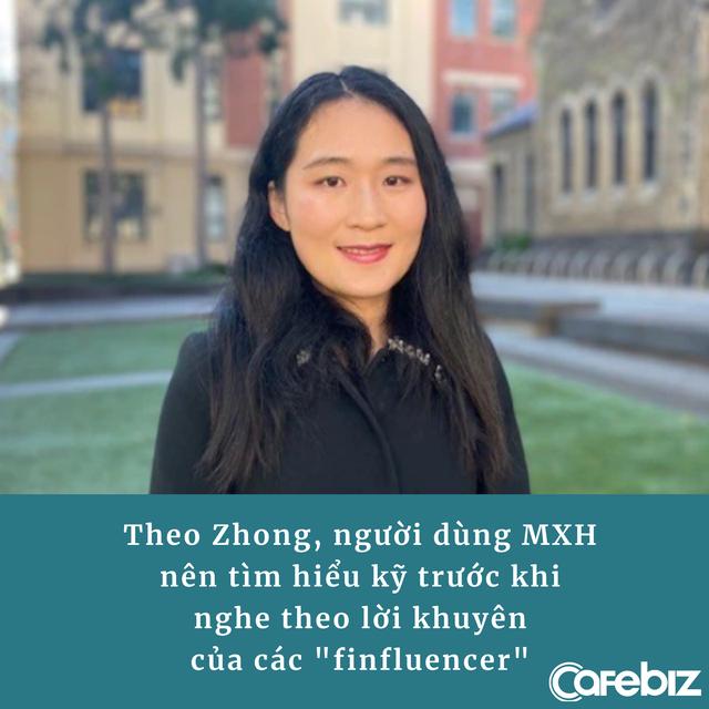 Finfluencer - 'Chuyên gia tài chính' trên MXH: Không bằng cấp, kinh nghiệm nhưng dạy làm giàu nhờ chứng khoán, tiền số, khuyên đủ thứ từ mua nhà đến đầu tư - Ảnh 2.