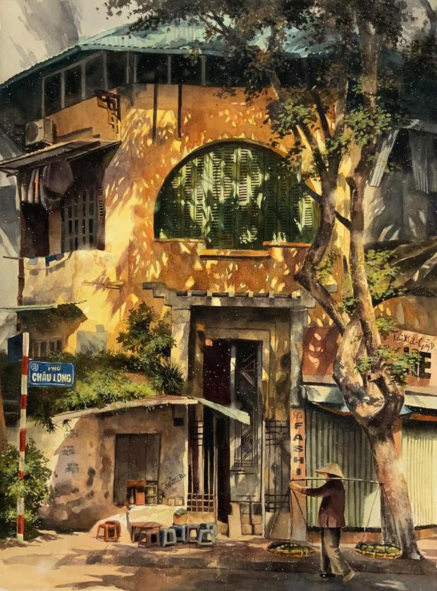 Bộ tranh Hà Nội có sức lan toả nhất lúc này: Một thủ đô đẹp thổn thức qua góc nhìn của người con Sài Gòn - Ảnh 7.