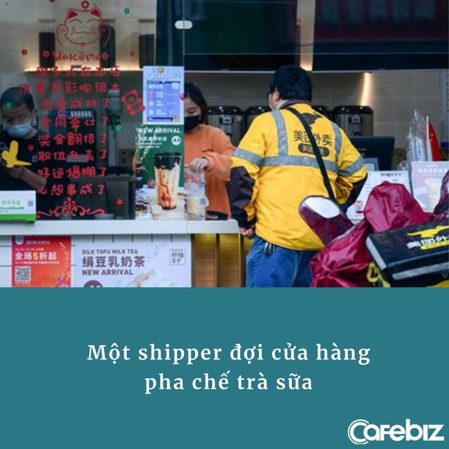 Cơn sốt kì lạ ở Trung Quốc: Trả gấp 5 lần giá thường để shipper mua và giao trà sữa từ tỉnh cách xa hơn 500 km - Ảnh 2.