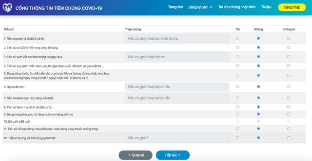 Các cách đăng ký online tiêm vaccine phòng Covid-19 - Ảnh 2.