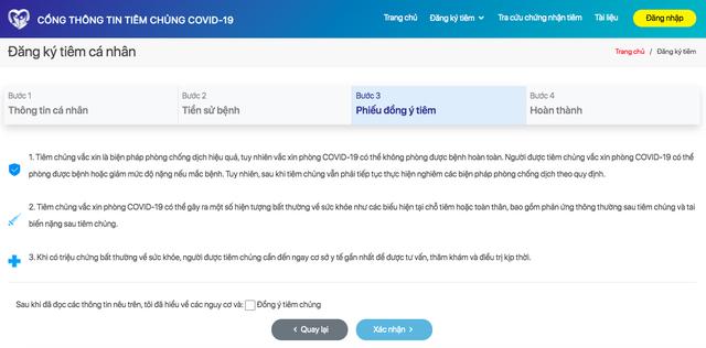 Các cách đăng ký online tiêm vaccine phòng Covid-19 - Ảnh 3.
