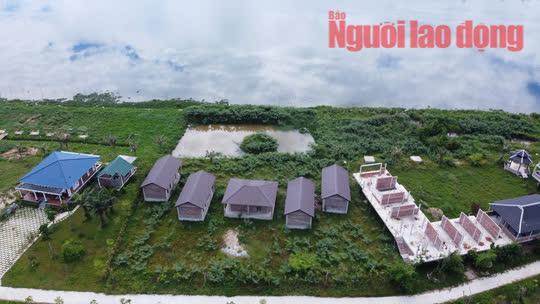 Chủ đầu tư dự án Go Green Farm bị đề nghị xử phạt vì xây 19 căn nhà không phép - Ảnh 2.