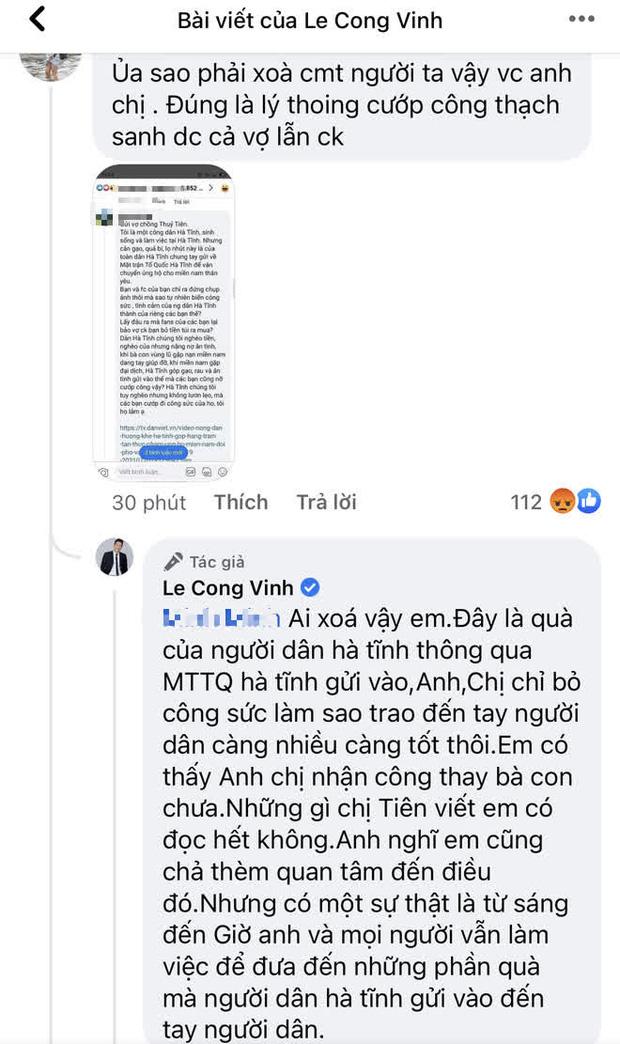 """Thuỷ Tiên bị tố """"nhận vơ"""" cả trăm tấn lương thực người dân Hà Tĩnh tiếp tế cho Sài Gòn, Công Vinh bức xúc lên tiếng phân trần - Ảnh 3."""