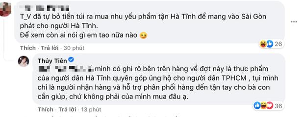 """Thuỷ Tiên bị tố """"nhận vơ"""" cả trăm tấn lương thực người dân Hà Tĩnh tiếp tế cho Sài Gòn, Công Vinh bức xúc lên tiếng phân trần - Ảnh 5."""