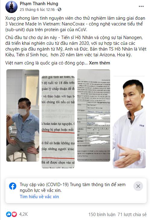 Doanh nhân Việt năng nổ dùng MXH: Chia sẻ cuộc sống, công việc và cả tuyển dụng nhân sự, mỗi lần đăng tin đều gây bão like - Ảnh 2.