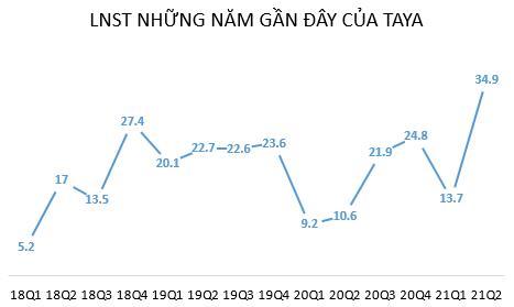 Taya Việt Nam (TYA): Quý 2 lãi 35 tỷ đồng gấp 3,3 lần cùng kỳ - cao nhất từ khi thành lập đến nay - Ảnh 1.