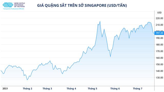 Giá quặng sắt giảm nhưng thị trường thép vẫn khó lường - Ảnh 1.