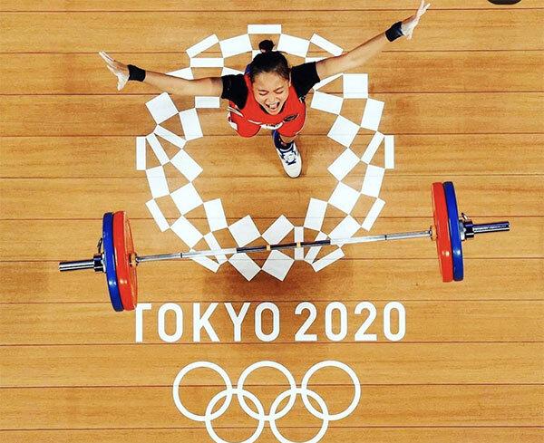 VĐV cử tạ được miễn phí pizza trọn đời khi giành huy chương tại Olympic Tokyo 2021 - Ảnh 1.