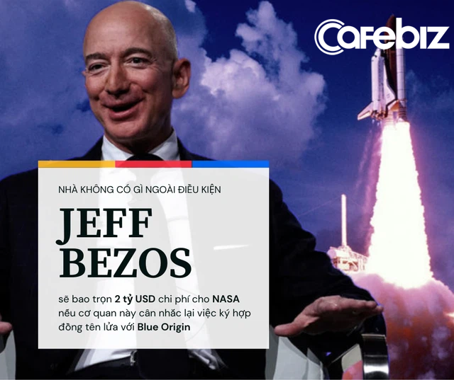 Có tiền làm việc dễ hơn hẳn: NASA nói ký hợp đồng tên lửa với SpaceX vì giá rẻ, Jeff Bezos đề nghị bao luôn 2 tỷ USD chi phí nếu cơ quan này chọn Blue Origin - Ảnh 1.