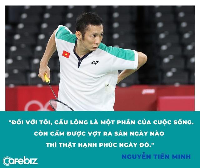Tay trắng tại Olympic Tokyo 2020, lão tướng cầu lông Nguyễn Tiến Minh: Còn cầm được vợt là còn hạnh phúc - Ảnh 1.