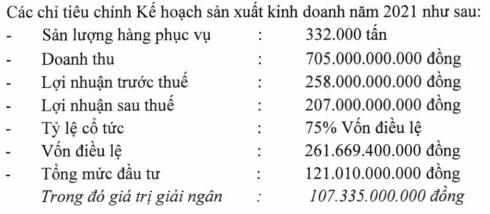 Đặt kế hoạch không tăng trưởng do áp lực Covid-19, công ty con của Vietnam Airlines tiếp tục duy trì mức cổ tức cao ngất 75% - Ảnh 1.