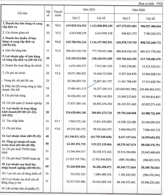 DIG: Nửa đầu năm lợi nhuận tăng 69% lên 94 tỷ đồng, chủ yếu nhờ chuyển nhượng dự án - Ảnh 1.
