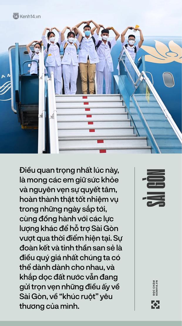 Sài Gòn đã luôn hào phóng tình yêu thương, và giờ là lúc để cả đất nước chìa vai cho Sài Gòn dựa vào khi trở bệnh - Ảnh 2.