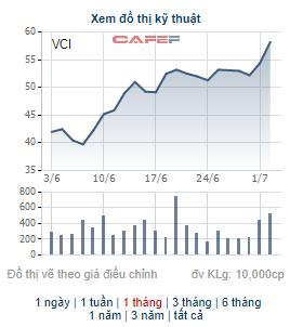 Những cổ phiếu tăng mạnh trong tháng 6: Hiện tượng của tháng thuộc về cổ phiếu có 11 phiên tăng trần liên tiếp - Ảnh 3.
