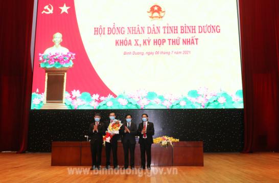 Ông Võ Văn Minh làm Chủ tịch UBND tỉnh Bình Dương - Ảnh 1.
