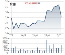 DATC muốn bán hết cổ phiếu MSB - Ảnh 1.