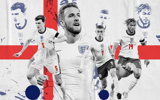 Hùng mạnh là thế, đội tuyển Anh lại đang nắm giữ một kỷ lục buồn tại Euro mà không đội bóng hàng đầu châu Âu nào gặp phải - Ảnh 1.