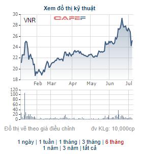 Vinare (VNR) chốt danh sách cổ đông phát hành gần 20 triệu cổ phiếu thưởng - Ảnh 2.