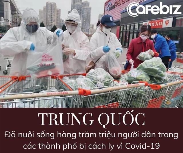 Trung Quốc nuôi sống hàng trăm triệu người trong các thành phố bị cách ly bằng cách nào? - Ảnh 2.