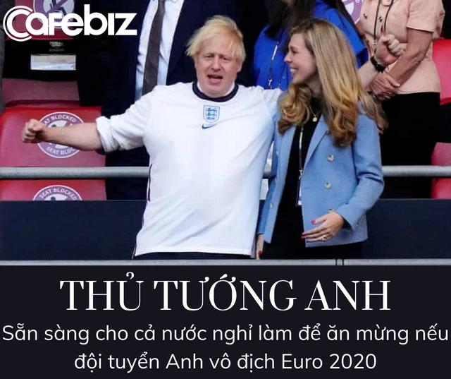 Thủ tướng Anh tuyên bố sẽ cho cả nước nghỉ làm nếu đội nhà vô địch Euro 2020 - Ảnh 1.