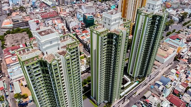 Ảnh: Cận cảnh toà nhà Thuận Kiều Plaza, nơi chuẩn bị được trưng dụng làm bệnh viện dã chiến điều trị COVID-19 - Ảnh 4.