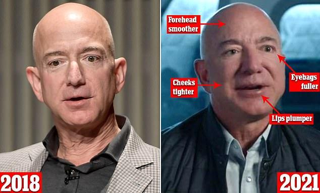 Vừa bị soán ngôi người giàu nhất thế giới, tỷ phú Amazon lại đau đầu khi bị soi gương mặt biến dạng khác thường - Ảnh 1.